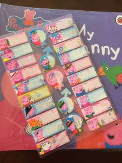 Peppa Pig 20 Eng Story Books + free stickers
