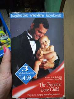 Mills and Boon The Tycoon's Love Child