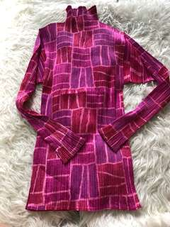 Issey Miyake pleats Please Pink top