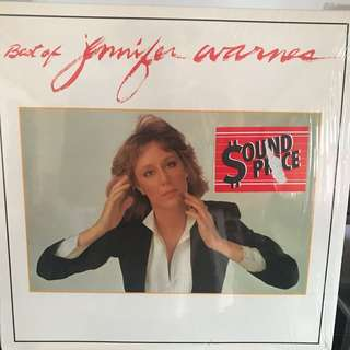 🚚 Jennifer Warnes Best of Vinyl Record