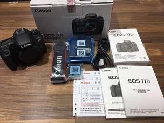 🚚 曙光數位 Canon 77D Body 單機身 / 公司貨