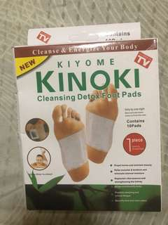 Kiyomi Kinoki Cleansing Detox Foot Pads