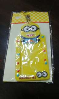 🚚 3d silicone name card holder minions design