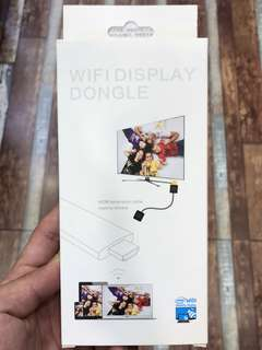 WiFi Dongle; Smartphones/Tablets to TV Screen