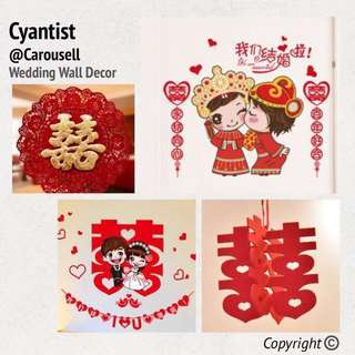 Wedding Decorations & Red Packets
