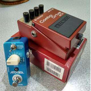 Guitar Effects Pedals Stompbox overdrive