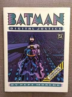 Batman: Digital Justice comic book