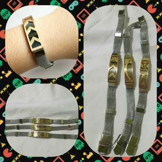Fashion silver gold bracelet