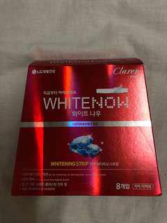 🚚 韓國LG Perioe Claren White Now牙齒美白貼片