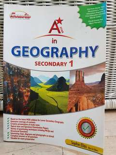 🚚 (4 for $10) Geography Sec 1 A*