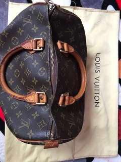 💯 Authentic LV Speedy 30
