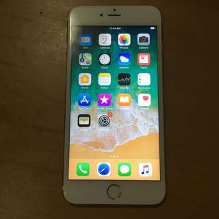 iPhone 6s Plus 16gb gold camera dirty not clear  LCD have little black other function working good