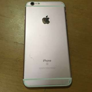 IPhone 6s Plus 16gb rose gold camera dirty not clear  other function good