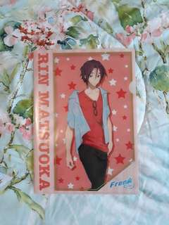 Free! Eternal Summer Rin Matsuoka Clear File