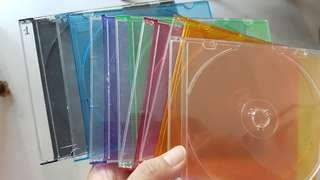 CD OR DVD Disc cases 29 pieces