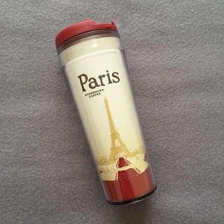 Tumbler/Botol Minum Starbucks Paris (100% BARU)