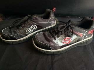 Skechers Star Wars Black Sneakers Kids