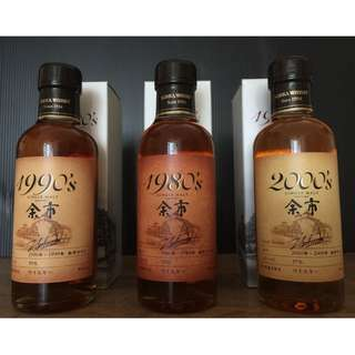 Nikka Whisky Yoichi 余市1980's/1990's/2000's (180ml中樣) 日版有盒品項完美