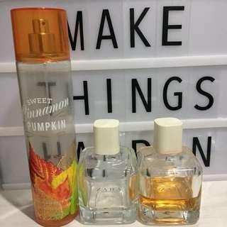 Parfum Zara & BBW (Bath & Body Works)