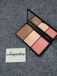Sleek Contouring and Blush Palette Kit, Shade Light