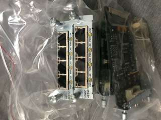 Cisco HWIC 4ESW - Interface Card
