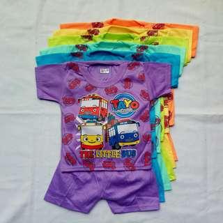 Baju Anak perempuan, 1-3 Tahun, Murah