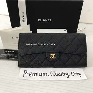 Ready Stock Chanel CF Wallet