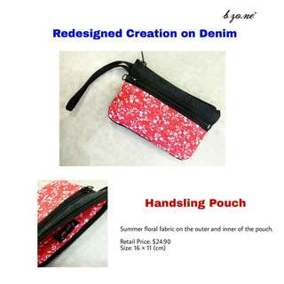 New Denim Pouch