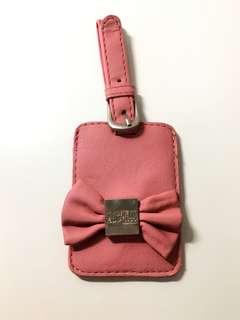 (包郵)澳洲 Kate Hill Pink Lugage Tag 粉紅色 行李 名牌