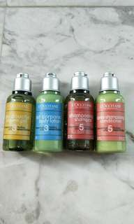 L'Occitane travel set - hair & body care