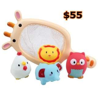 代購--沖涼玩具,$55/set