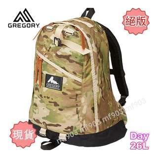 最平行貨 Gregory Day Pack 26L Multi Cam 迷彩背包 Classic Backpack 經典書包 潮流背囊 Fenom Fragment Arcteryx Arro22 Madness