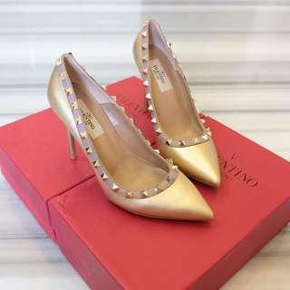VALENTINO PUMP GOLD