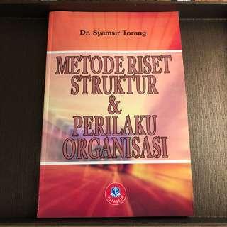 Metode Riset Struktur & Perilaku Organisasi
