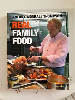 Real family food cookbook