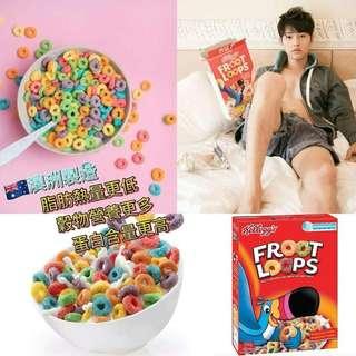 🇦🇺澳洲Froot Loops水果味穀物圈圈🍓🍌(500g)