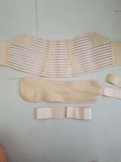 Nexcare maternity support belt size M