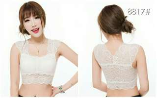 Tanktop Crop Lace C