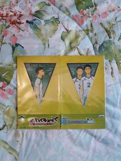 Haikyuu! Aoba Johsai Flag Stickers
