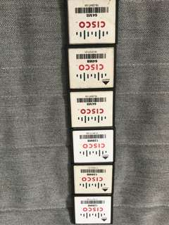 Cisco Flash Card - 64MB & 128MB