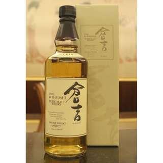 Kurayoshi Pure Malt Whisky 倉吉 純麥威士忌 (700ml 43%)
