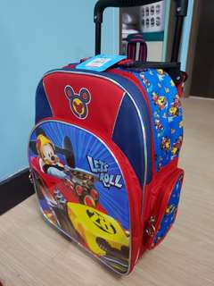 Brand new Mickey Mouse Trolley Bag
