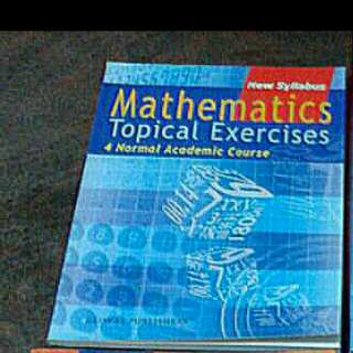 4 N/A Mathematics Topical Exercises