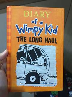 Diary of a Wimpy Kid episode 9 The Long Haul hard cover