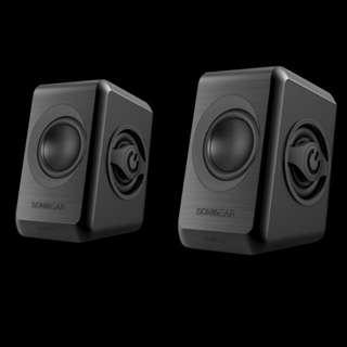 SonicGear 2.0 Speaker Quatro 2 - Black