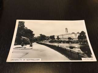 University of Nottingham post card