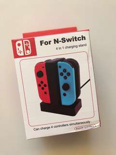 [全新 brand new] Nintendo Switch 4 in 1 charging stand