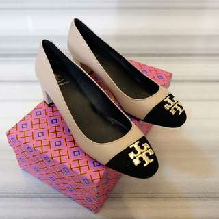 TORY BLOCK LOW HEELS