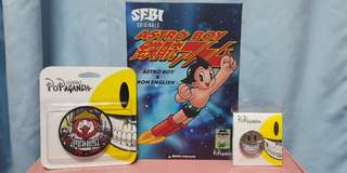 Limited Edition SFBI Astro Boy x Ron English with FREEBIES