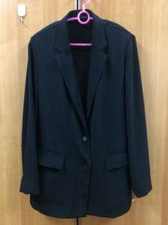 Woman Black Blazer